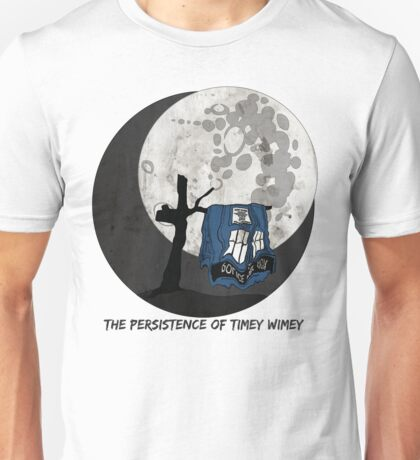 The Persistence of Timey Wimey Grunge Unisex T-Shirt