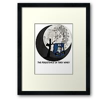 The Persistence of Timey Wimey Grunge Framed Print