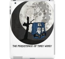 The Persistence of Timey Wimey Grunge iPad Case/Skin