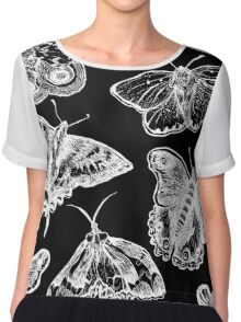 Gothmoths & Butterflies Chiffon Top