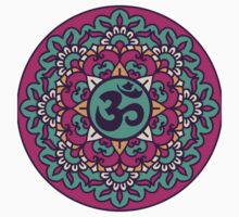 Mandala - Circle Ethnic Ornament Baby Tee