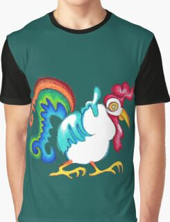 Rooster Graphic T-Shirt