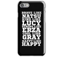 <FAIRY TAIL> Characters iPhone Case/Skin
