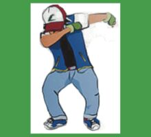 Ash Ketchum Dab One Piece - Short Sleeve