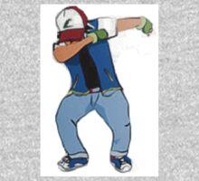 Ash Ketchum Dab One Piece - Short Sleeve