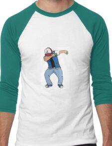Ash Ketchum Dab Men's Baseball ¾ T-Shirt