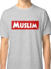 Muslim Red Banner Classic T-Shirt