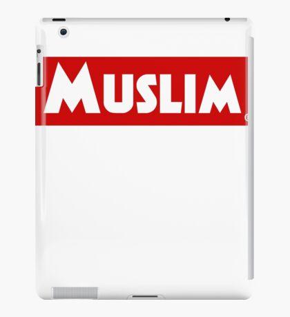 Muslim Red Banner iPad Case/Skin