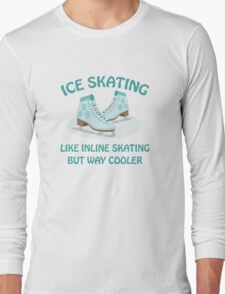 Ice Skating Long Sleeve T-Shirt