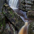 Highland gorge Falls by Donovan wilson