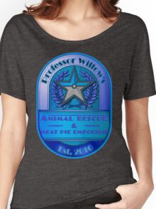 Prof. Willow's Animal Rescue & Meat Pie Emporium (Mystic) Women's Relaxed Fit T-Shirt