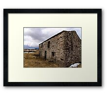 The Barn Swaledale Framed Print
