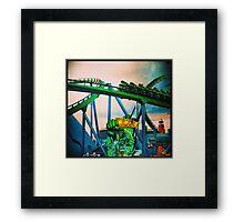 Hulk Coaster Framed Print