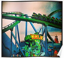 Hulk Coaster Poster
