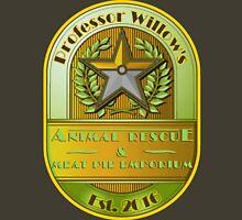 Prof. Willow's Animal Rescue & Meat Pie Emporium (Instinct) Unisex T-Shirt
