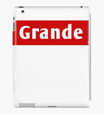 Grande iPad Case/Skin