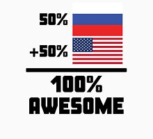 Awesome Russian American Unisex T-Shirt
