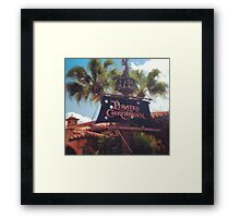 Pirates of the Caribbean  Framed Print