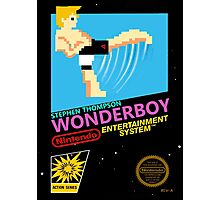 Stephen Wonderboy Thompson UFC 8-bit  Photographic Print