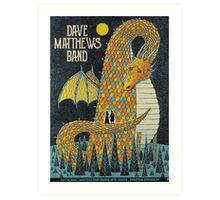 DAVE MATTHEWS BAND, SARATOGA PERFORMING ARTS CENTER, SARATOGA SPRINGS, NY Art Print