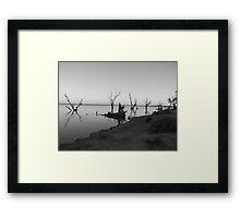 Lake Bonney Framed Print