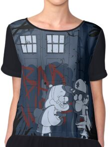 Bad wolf here? Chiffon Top