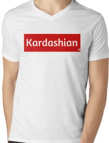 Kardashian Mens V-Neck T-Shirt