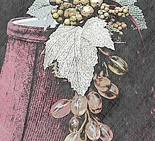 Glass Grapes and Shade by Sherry Hallemeier