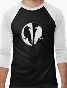 Huginn and Muninn Publishing Logo - Odin's Ravens Men's Baseball ¾ T-Shirt