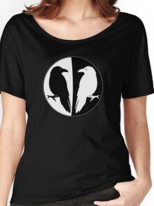 Huginn and Muninn Publishing Logo - Odin's Ravens Women's Relaxed Fit T-Shirt