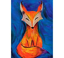 The foxy fox in acrylic Photographic Print