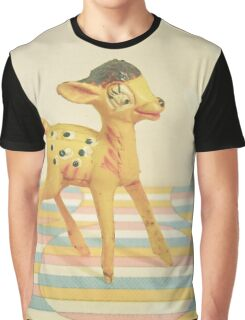 Dancing Deer Graphic T-Shirt