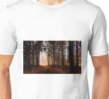 The light at the end of the tunnel by Karen Mayer Unisex T-Shirt