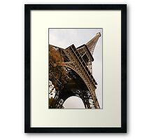 An Elegant French Iron Lady - La Dame de Fer, Paris Framed Print