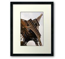 An Elegant French Iron Lady - La Dame de Fer, Paris Framed Print