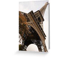 An Elegant French Iron Lady - La Dame de Fer, Paris Greeting Card