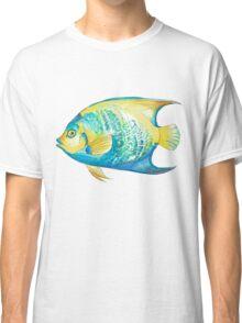 Queen Angelfish in Watercolor Classic T-Shirt