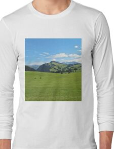 Green mountains (Italy) Long Sleeve T-Shirt