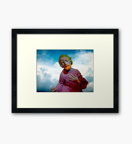 Mystic Trickster Framed Print