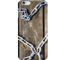 heart of steel iPhone Case/Skin