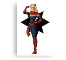 Captain Marvel Canvas Print