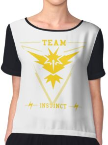 GO TEAM INSTICT! Chiffon Top