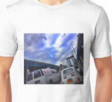 Modern Day Manhattan Bridge Traffic Unisex T-Shirt