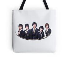 Boys Before Flowers Tote Bag