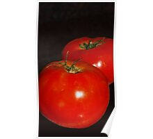 Lucious Tomatoes Poster
