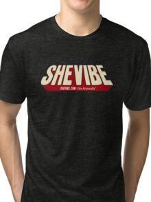 SheVibe Comic Logo Tri-blend T-Shirt