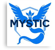 Pokemon GO: Team Mystic Simple Canvas Print