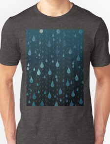 Rainy Day Print Unisex T-Shirt