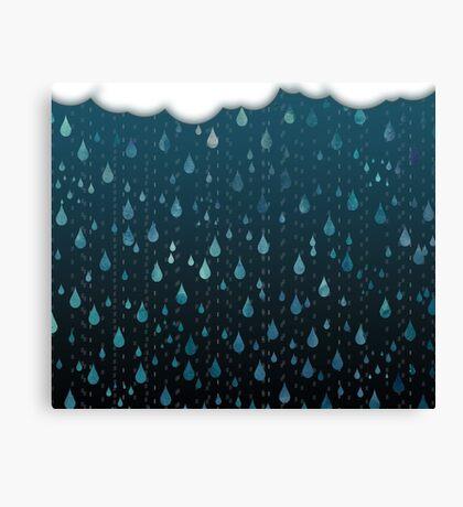 Rainy Day Print Canvas Print