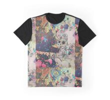 Dia de Muertos Sassy Sugar Skull Party Dancer Graphic T-Shirt